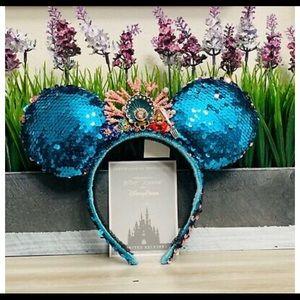Disney Betsey Johnson Little Mermaid Mickey Ears